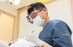 インプラント専門の歯科医師と連携